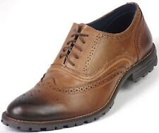 Redfoot Leather Tan Edenfield Derby Brogue Gents Lace Shoes 7 free shipping 0232