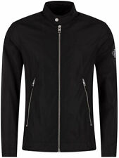 Calvin Klein Zip-Up Nylon Racer Jacket – Black, 100% Authentic, Brand New.