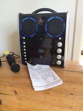 The singing Machine, Karaoke Anlage Set System, Musik, CD Player, Lichteffekt
