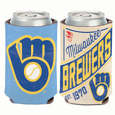 Milwaukee Brewers MLB Cooperstown Can Cooler 12 oz. Koozie