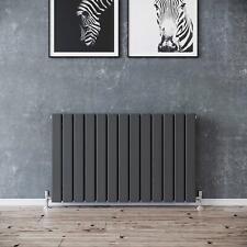 Lynwood Flat Bar Double Horizontal Radiator Designer Central Heating Anthracite