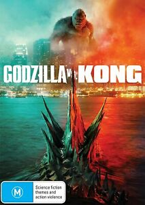 Godzilla vs Kong (DVD) , NEW SEALED AUSTRALIAN RELEASE REGION 4 lot 252