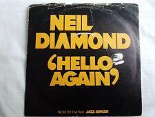 "Neil Diamond - Hello Again 7"" Vinyl Single"