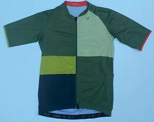 VELOCIO Multi SE Jersey in Olive Grid - Men's L - Cycling