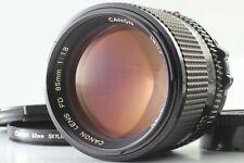 [Excellent+5] Canon New FD NFD 85mm F1.8 Portrait Prime MF Lens From JAPAN