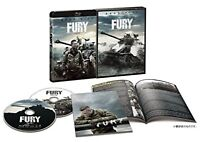 Brad Pitt FURY Premium Edition Mastered in 4K Blu-ray Lang=EN/JP F/S w/Tracking#