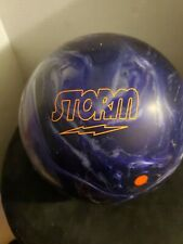 15 lb storm bowling ball new Undrilled