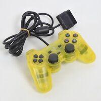 PS2 DUAL SHOCK 2 Analog Controller SCPH-10010 Lemon Yellow Playstation 2 1132