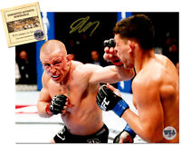Georges St. Pierre Signed 8x10 UFC MMA Photo COA Hologram Certified by WCA