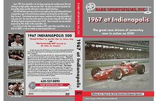 1967 Indianapolis 500 now on DVD!  Foyt, Andretti, Clark,