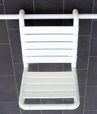 NORMBAU Einhängesitz für Normbau / Hewi Duschhandläufe und Haltegriffe,Duschsitz