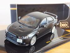IXO MITSUBISHI LANCER EVO X NURBURGRING TEST 2007 BLACK CAR MODEL MOC115 1:43