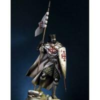 Assembly Unpainted Scale 1/20 90mm Knight of the Holy Sepulcher Resin Figure