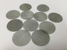 """Lot of 11 Sanitary Mesh Filter For Tri-Clamp Connections, Diameter: 2.569"""""""
