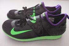 NEW Nike Zoom PV II Pole Vault Shoes Black Purple Green 317404-035 Mens Size 13