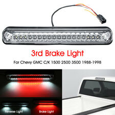 LED Clear Third 3rd Brake Stop Light Lamp For Chevy GMC C/K 1500 2500 3500 88-98