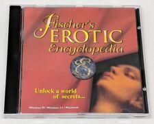 Fischer's Erotic Encyclopedia CD-ROM CD 1996 Windows 95 Dreamcatcher Interactive