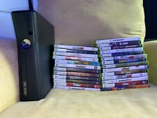 Xbox 360 S 4GB Black Console with 20+ games