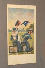 Vintage 1908 Posted Earl Christy Yale Uninversity Advertising Postcard