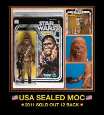 "USA MINT 1977 Star Wars 12"" CHEWBACCA Kenner JUMBO Gentle Giant MIB MOC Back ESB"