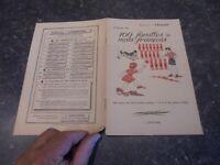 Ancien Manuel Scolaire 100 Familles de Mots Français J Anscombe l'Essentiel 1953