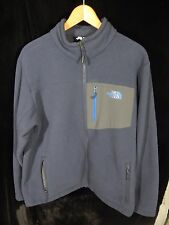 Men's North Face Blue Zip Up Fleece Size Large; Made in Vietnam; 100% Polyester