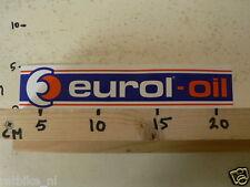 STICKER,DECAL EUROL-OIL LARGE