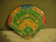 Metal & Plastic Handheld Pinball Type Baseball Game