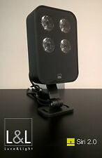 Luce & Light 16W 2700K IP66 Siri 2.0 Projector, colour Anthracite