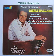 MERLE HAGGARD - Stars Of Country - Excellent Con LP Record Capitol 1A 028-82023