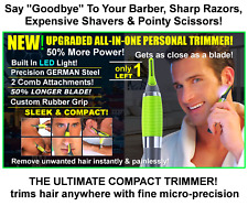 NEW Upgraded Model All In One Micro-Precision Touch Facial Trimmer German Steel