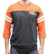 """Cincinnati Bengals Mitchell & Ness NFL """"Starting"""" 3/4 Sleeve Tri-blend Shirt"""