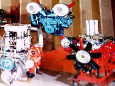 1969 Experimental Oldsmobile Engines - Twin Turbo 455/389 v8/442/intake manifold