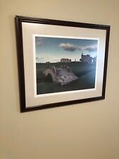 """New listing Framed Swilcan Bridge At The Old Course St. Andrews Golf Course. Pic: 28"""" X 24"""""""