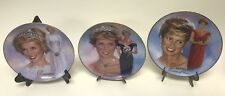 Princess Diana Woman Of Style Ltd Ed Plates Bradford Exchange Enchanting Forever
