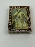 Kahn & Selesnick Eisergfreistadt Panoramische Spielkarte 1923 Playing Cards RARE