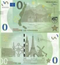 Biljet billet zero 0 Euro Memo - Konigssee (021)