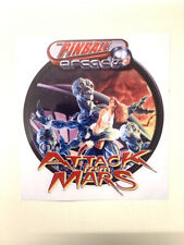 Autocollant flipper bally ATTACK FROM MARS ***