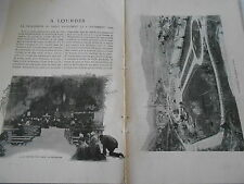 1906 A Lourdes la procession du Saint Sacrement le 08 Septembre 1994