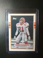 1989 Topps Traded Football #30T Deion Sanders Falcons RC Rookie HOF