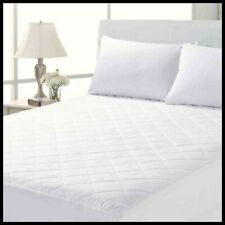 King Quilted Mattress Protector 30cm Extra Deep Topper Fitted Bed Sheet Cover