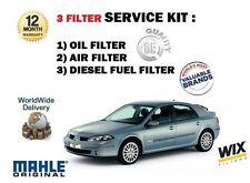 para Renault Laguna 2.0 dCi 150bhp 2005-9/2007 Filtro de Aceite Aire Combustible