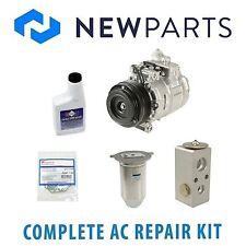 For BMW E39 528i 1997 Complete A/C Repair KIT w/ Compressor & Clutch OEM Denso