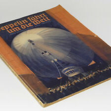 German Graf Zeppelin LZ127 Photo Book World Flight Japan Tokyo 1929 Airship