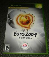 UEFA EURO 2004 PORTUGAL - XBOX - COMPLETE WITH MANUAL - FREE S/H - (TT)