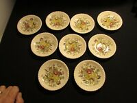 Johnson Bros England Windsor Ware Garden Bouquet Small Fruit Bowls  9 total