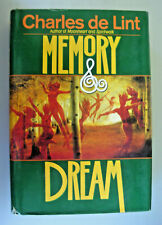 Memory and Dream by Charles de Lint 1994 Hardcover Book Club Edition 06154