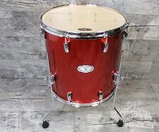 """Pearl Vision VX Birke / Linde 16""""x16"""" Floortom Metallic Orange Drums Schlagzeug"""