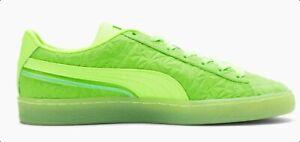 PUMA SUEDE MONO Triplex 384164-02 Green Glare-Green  Mens lifestyle Shoes 7.5-14