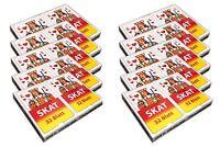 10 Packungen Skat Kartenspiel | Skatkarten Spielkarten Mau Mau Kartendeck Karten